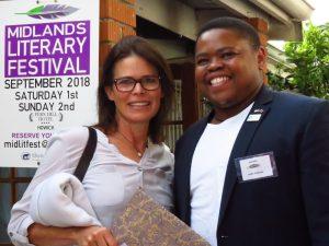 Jane McDonald and Landa Mabenge